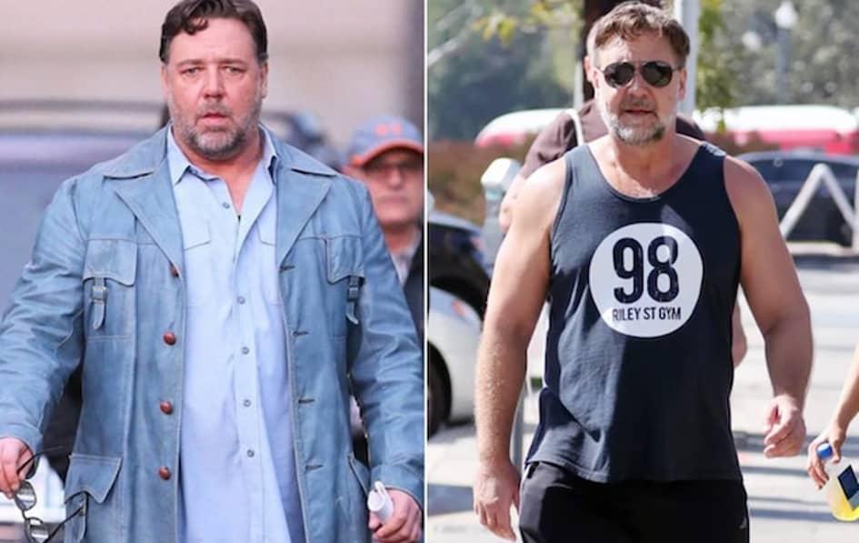 Russell Crowe A Perdu Les 24 Kilos Qu'il Avait Dû Prendre Pour Un Rôle Au Cinéma