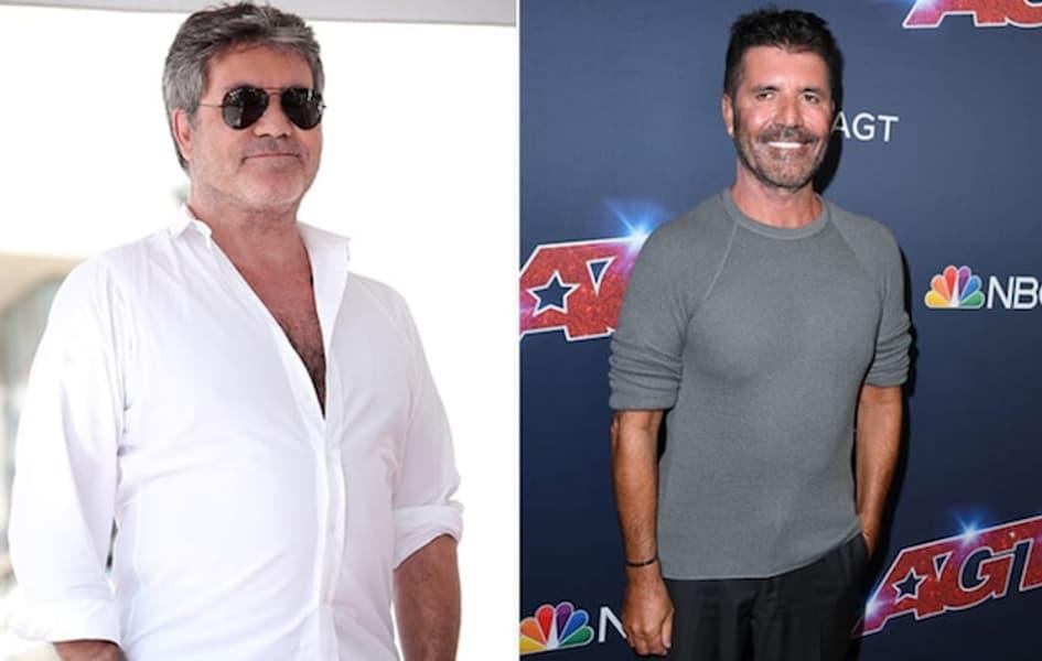 Simon Cowell A Perdu 27 Kilos En Adoptant Un Style De Vie Plus Sain