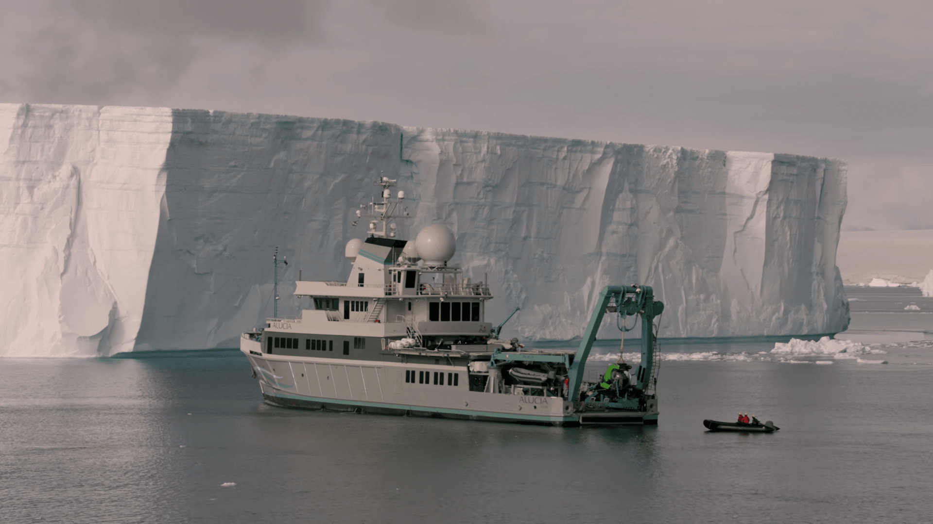 In The Antarctic