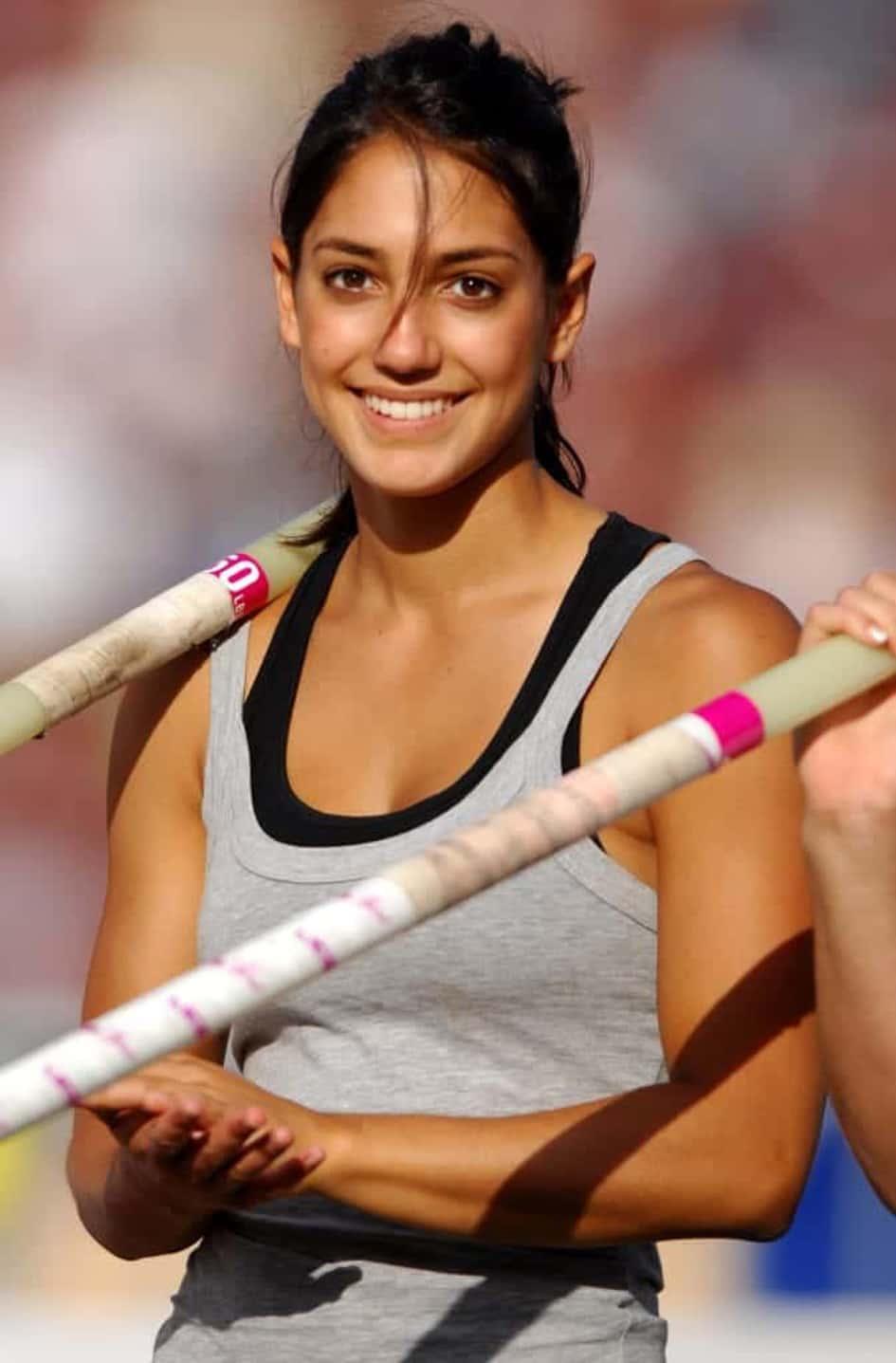 Les Débuts D'Allison Stokke En Tant Qu'athlète Spécialiste Du Saut à La Perche