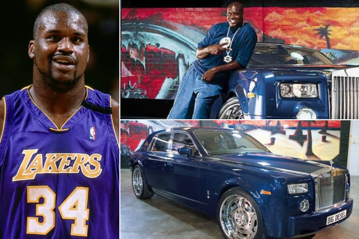 Shaquille O'Neal – Rolls Royce Phantom, Estimated $139K