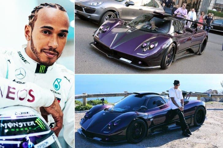 Lewis Hamilton – Pagani Zonda, Estimated $1.4 Million