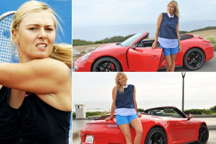 Maria Sharapova – Porsche 911 Carrera S Cabriolet, Estimated $109K