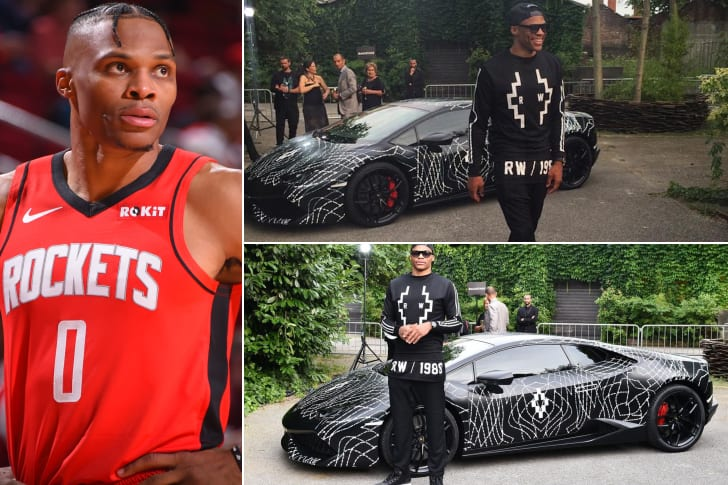 Russell Westbrook – Lamborghini Aventador, Estimated $380K