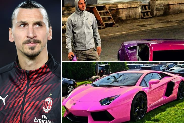 Zlatan Ibrahimovic – Lamborghini, Estimated $200K