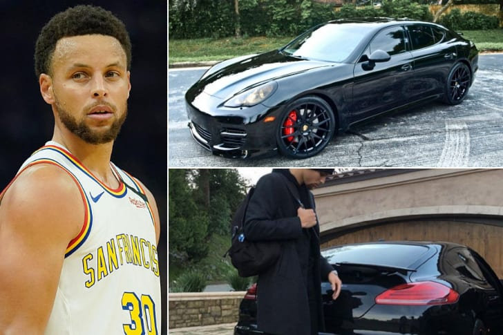 Stephen Curry – Porsche Panamera Turbo, Estimated $150K