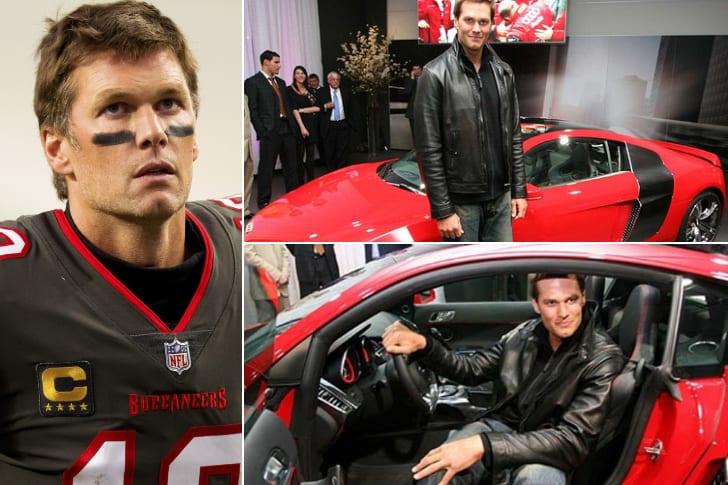 Tom Brady – Audi R8, $165K