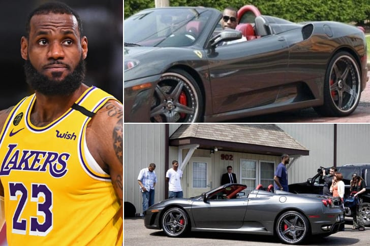 LeBron James – Ferrari F430, Estimated $219K