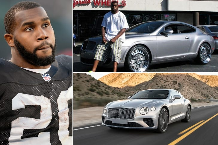 Darren McFadden – Bentley Continental GT, Estimated $203K