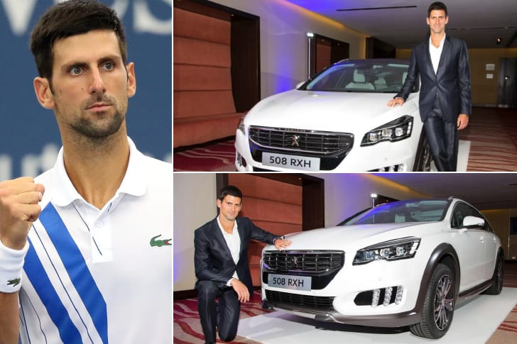 Novak Djokovic – Peugeot 508, Estimated At Least $54K