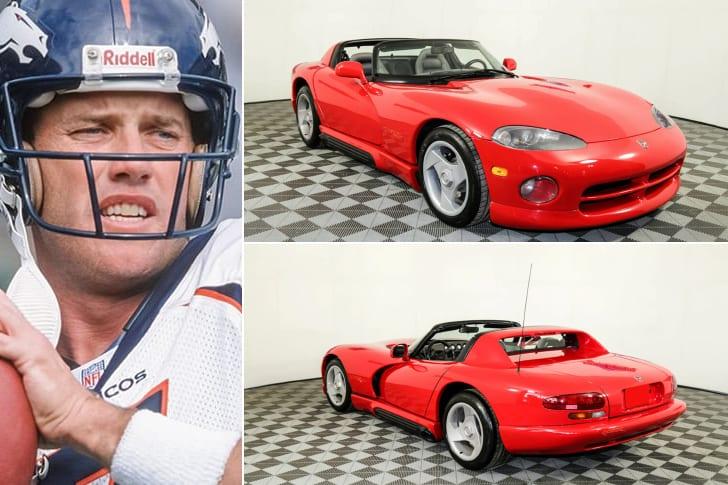 John Elway – 1992 Dodge Viper RT, Estimated $80K