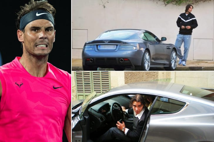 Rafael Nadal – Aston Martin DBS, Estimated Over $300K