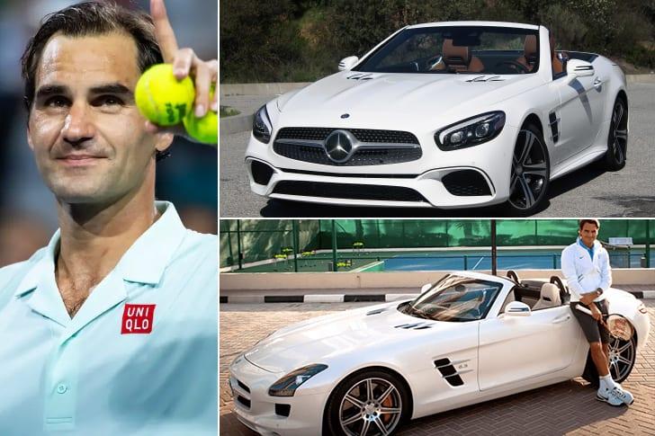 Roger Federer – Mercedes Benz SL, Estimated $91K