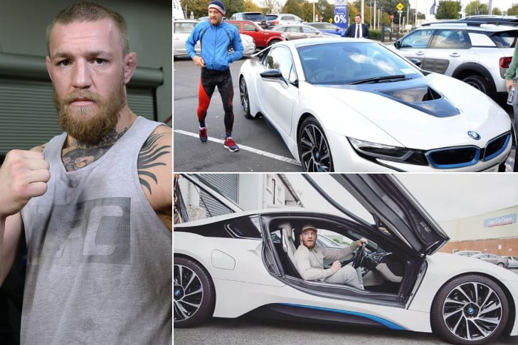 Conor McGregor – BMW I8, Estimated $150K