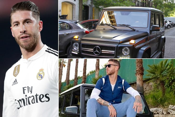 Sergio Ramos –Mercedes Benz G63 AMG, Estimated $218K