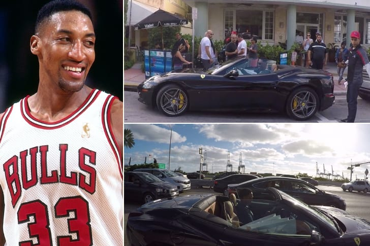 Scottie Pippen – Ferrari, Price Undisclosed