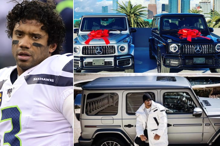 Russell Wilson – Mercedes Benz G Class, Estimated $124.5K
