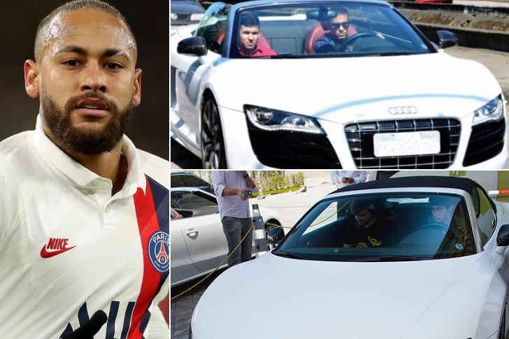 Neymar – Audi R8 GT Spyder, Estimated $246K