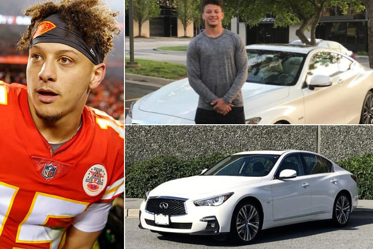 Patrick Mahomes – Infiniti Q50, Estimated $50K