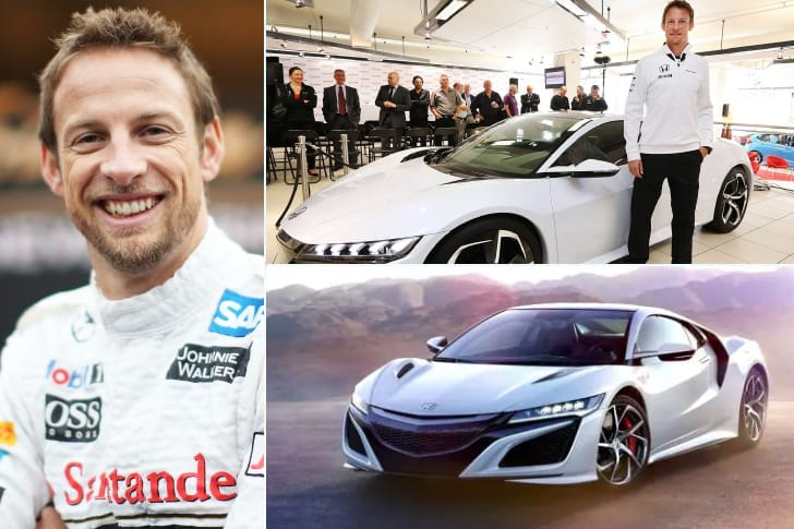 Jenson Button – Honda NSX Type R, Estimated $140K