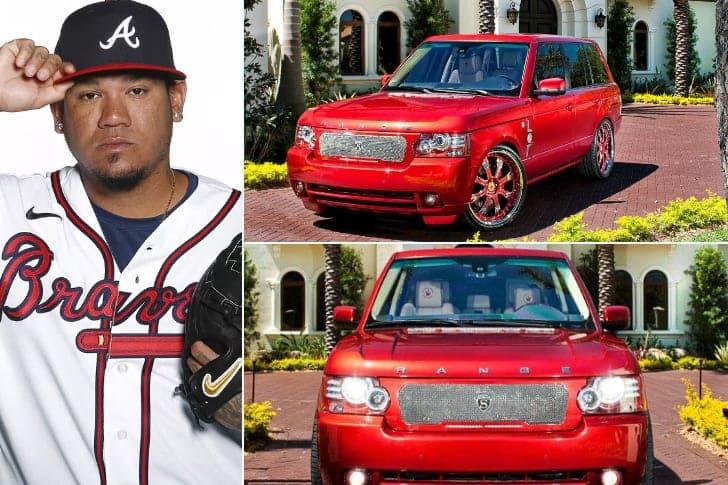 Félix Hernández – Custom Range Rover, Estimated At Least $90K