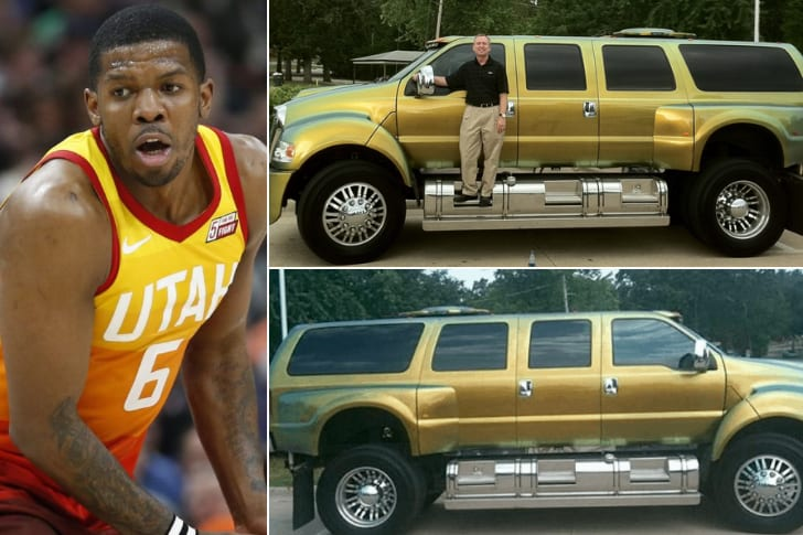 Joe Johnson – Ford F 650, Estimated Over $200K