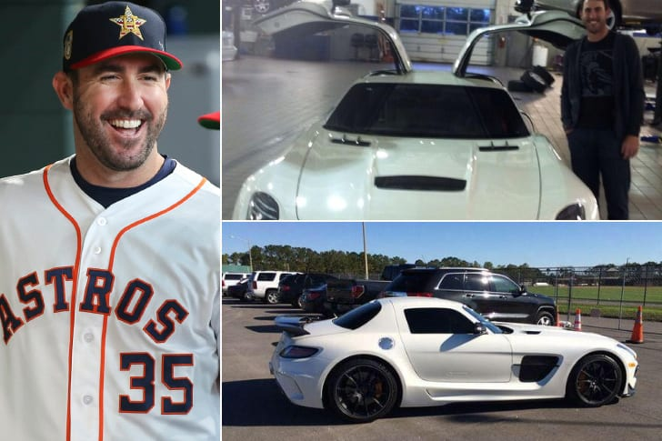 Justin Verlander – 2014 Mercedes Benz SLS AMG Black Series, Estimated $250K