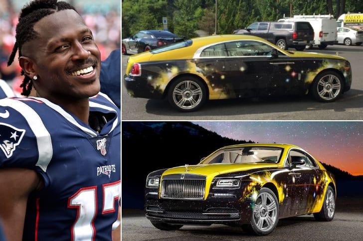 Antonio Brown – Rolls Royce Wraith, Estimated $315K