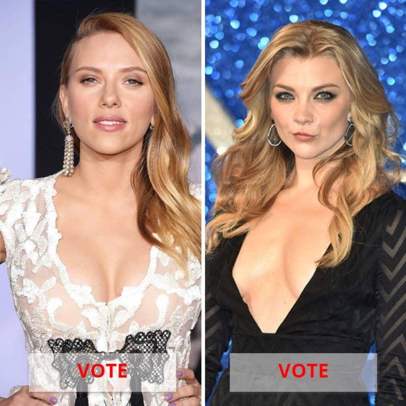 Scarlett Johansson Vs. Natalie Dormer