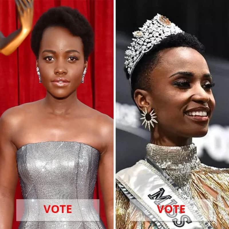 Lupita Nyong'o Vs. Zozibini Tunzi