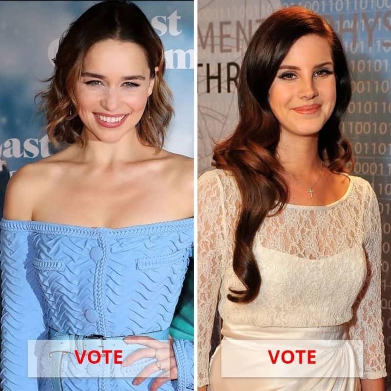 Lana Del Rey Vs. Emilia Clarke