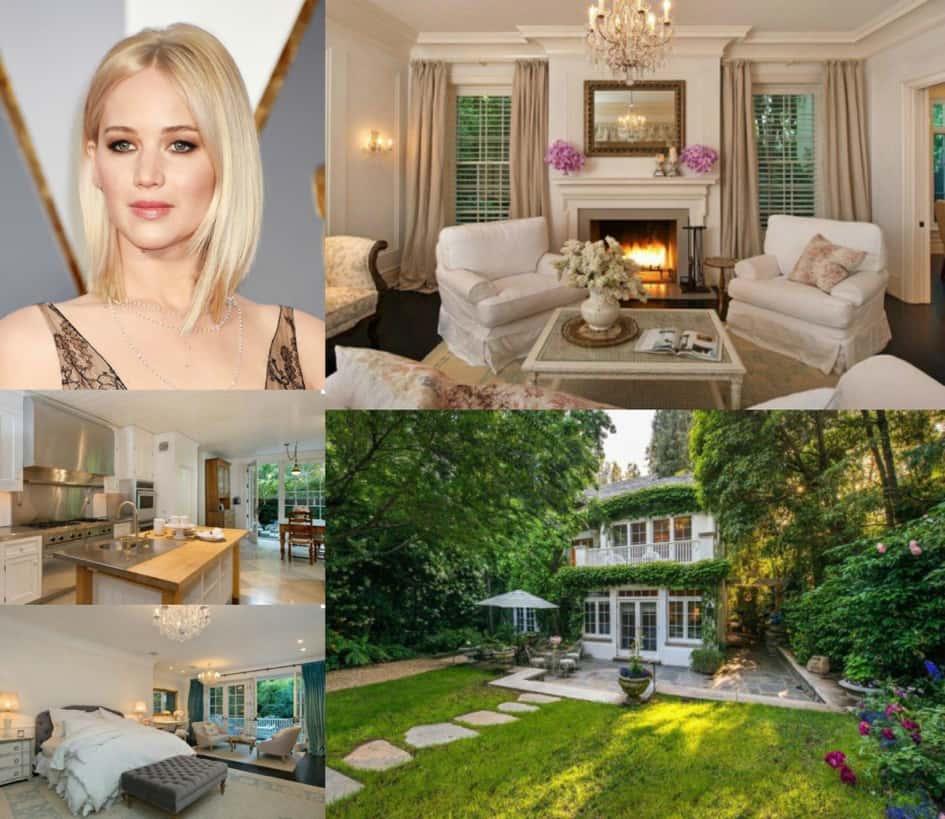L'imposante Propriété à Beverly Hills De Jennifer Lawrence Estimée à Près De 8 Millions De Dollars