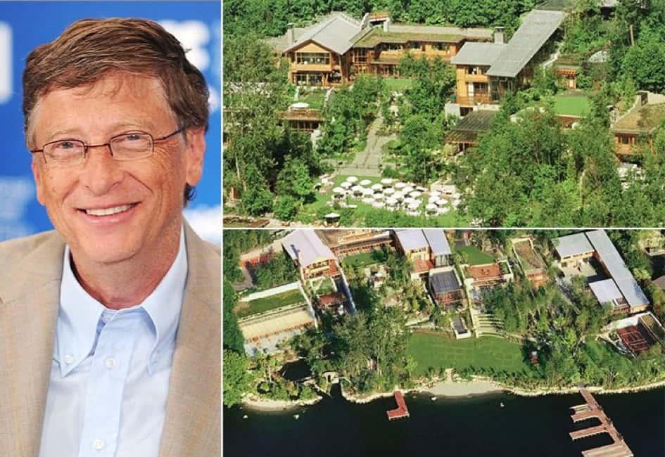 La Propriété De Bill Gates à Washington D.C. Estimée à Une Valeur De Près De 147.5 Millions De Dollars