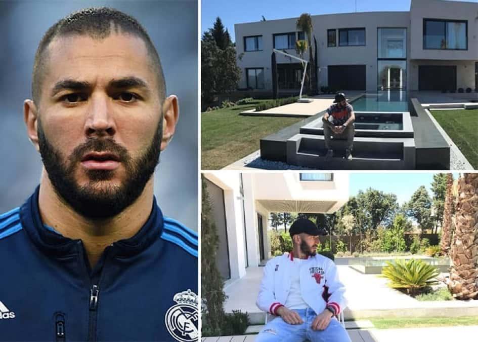 La Résidence Apaisante De Karim Benzema à Moraleja En Espagne