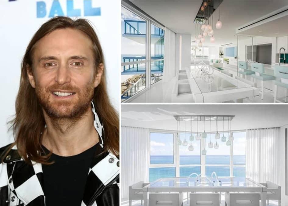 La Résidence De David Guetta à Miami Estimée à Près De 9.5 Millions De Dollars