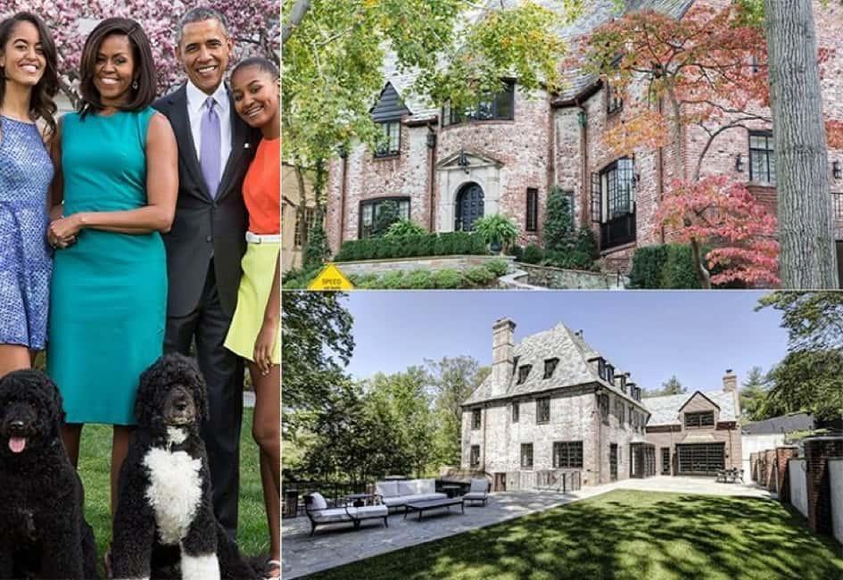 La Résidence De La Famille Obama à Washington D.C Estimée à Une Valeur De Près De 5.7 Millions De Dollars