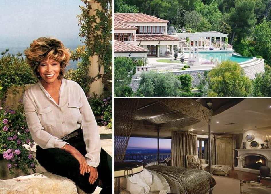 La Résidence De Tina Turner à Villefranche Sur Mer