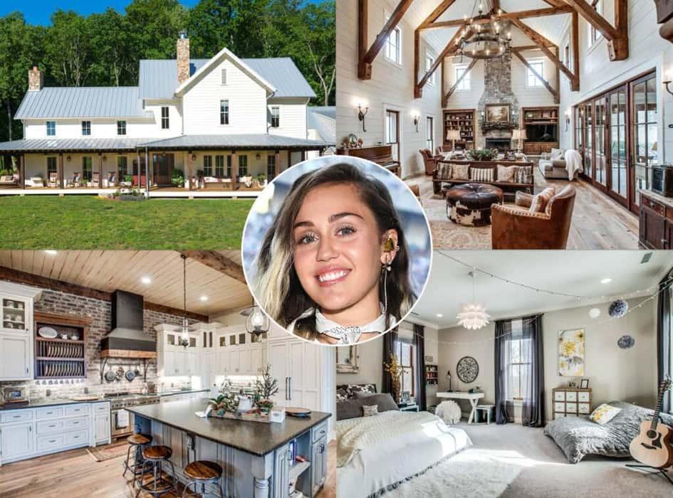 La Villa à Malibu De Miley Cyrus Estimée à Près De 2.5 Millions De Dollars
