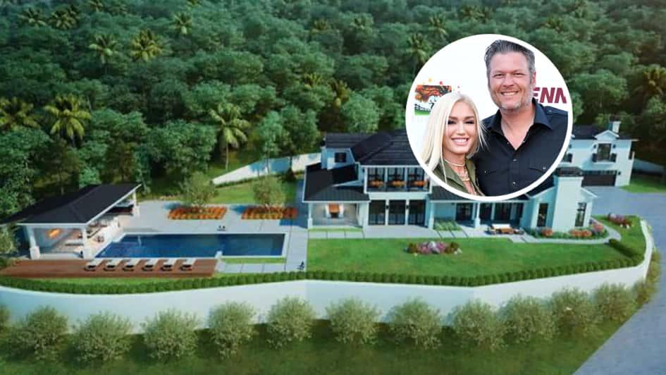La Villa De Blake Shelton à Nashville Estimée à Près De 3 Millions De Dollars