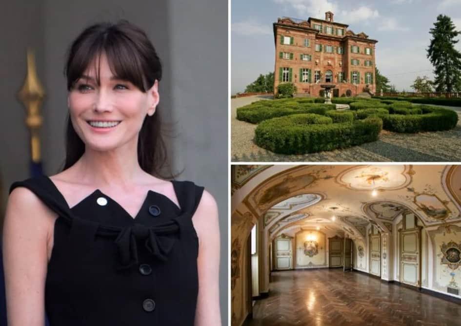 La Villa De Carla Bruni En Italie, Un Vrai Bijou D'histoire