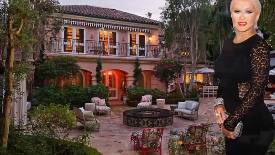 La Villa De Christina Aguilera à Los Angeles Estimée à Une Valeur De Près De 13.5 Millions De Dollars