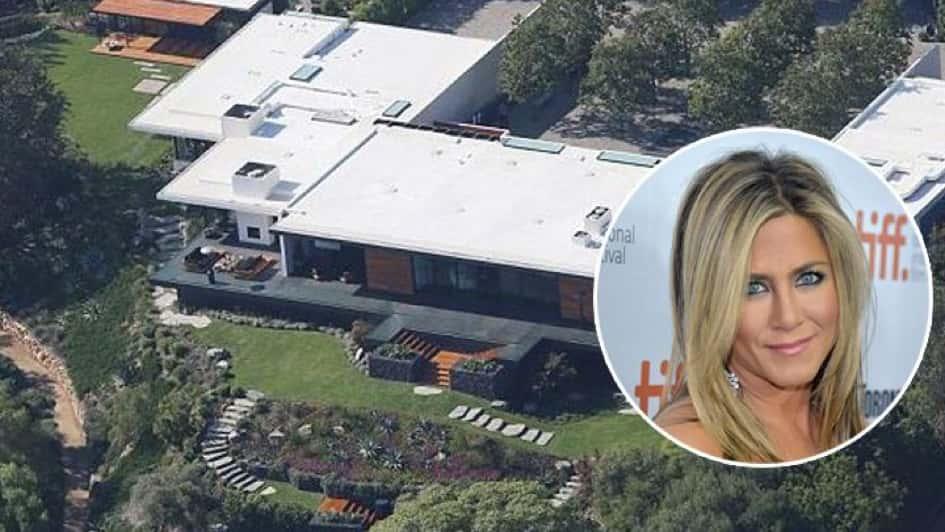 La Villa De L'actrice Jennifer Anniston à Los Angeles Estimée à Une Valeur De Près De 11 Millions De Dollars