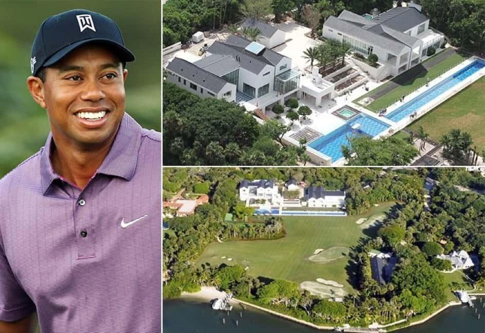 La Villa De Tiger Woods En Floride Estimée à Une Valeur De Près De 60 Millions De Dollars