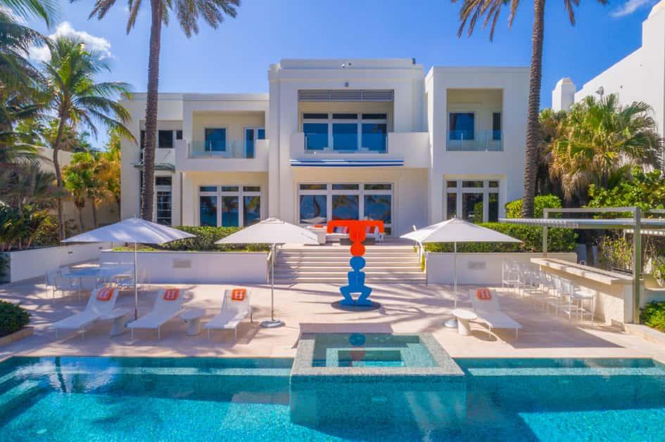 La Villa De Tommy Hilfiger En Floride Estimée à Près De 27.5 Millions De Dollars