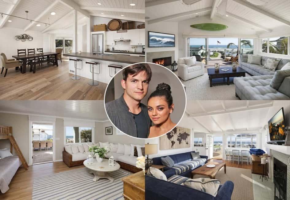 La Villa Du Couple Ashton Kutcher Et Mila Kunis à Beverly Hills Estimée à Près De 10 Millions De Dollars