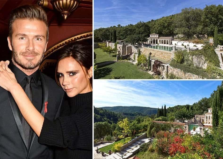 La Villa Du Couple David Et Victoria Beckham à Bargemon Dans Le Var, Estimée à Près De 3 Millions De Dollars