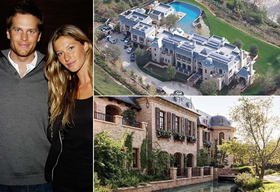 La Villa Du Couple Tom Brady Et Gisele Bündchen En Californie Estimée à 20 Millions De Dollars