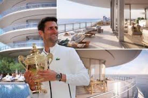 La Villa Du Tennisman Novak Djokovic à Miami Estimée à 15 Millions De Dollars Environ