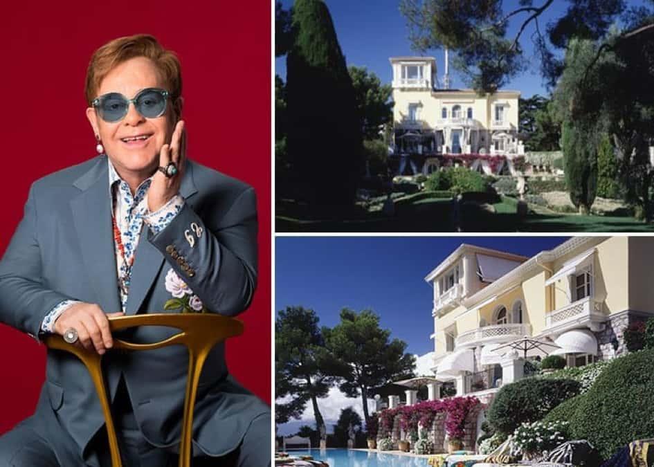 Le Splendide Manoir De Sir Elton John Dans Le Montbauron