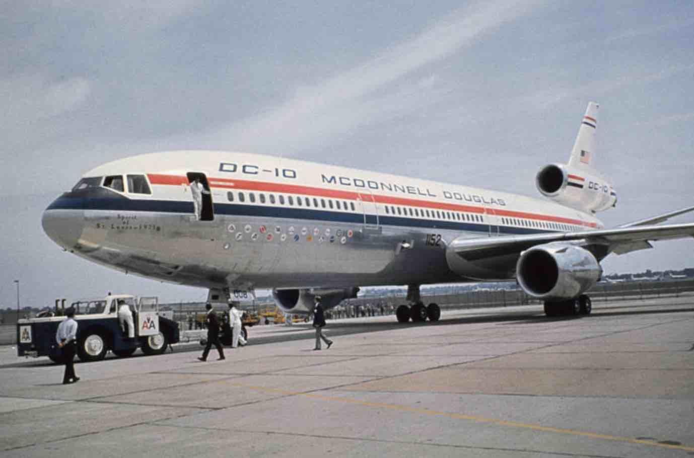 Le Douglas DC 10